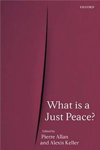 eBook What is a Just Peace? download