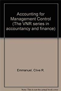 eBook Accounting for Management Control (The VNR series in accounting and finance) download