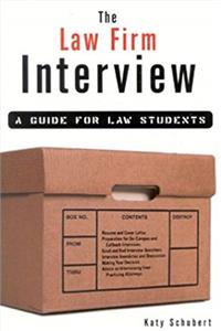 eBook The Law Firm Interview: A Guide for Law Students download