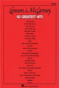 eBook Lennon and McCartney 60 Greatest Hits: Violin download