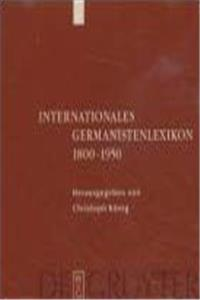 eBook Internationales Germanistenlexikon 1800-1950 (German Edition) download
