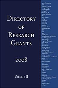 eBook Directory of Research Grants 2008: Volume 2 download