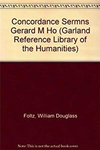 eBook Concordance Sermns Gerard M Ho (Garland Reference Library of the Humanities) download