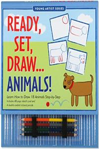 eBook Ready, Set, Draw... Animals! (Activity Books) (Young Artist) (Young Artist Series) download