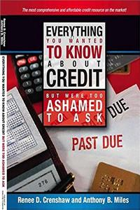 eBook Everything You Wanted to Know About Credit but Were Too Afraid to Ask download
