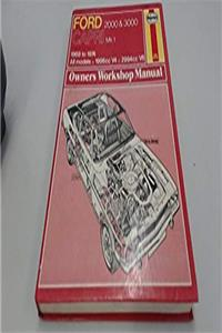eBook Ford Capri 2000 and 3000 Owner's Workshop Manual download