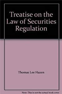 eBook Treatise on the Law of Securities Regulation download