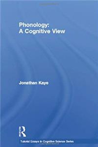 eBook Phonology: A Cognitive View (Tutorial Essays in Cognitive Science Series) download