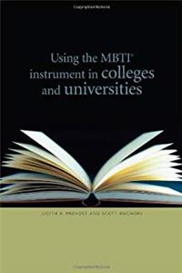 eBook Using the Mbti Instrument in Colleges and Universities download