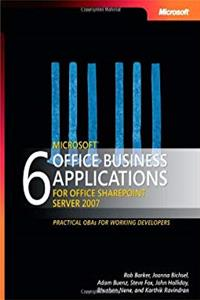 eBook 6 Microsoft Office Business Applications for Office SharePoint Server 2007 download