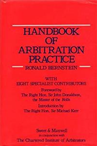 eBook Handbook of Arbitration Practice download