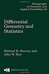 eBook Differential Geometry and Statistics (Chapman  Hall/CRC Monographs on Statistics and Applied Probability) download