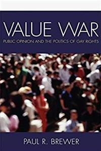 eBook Value War: Public Opinion and the Politics of Gay Rights download