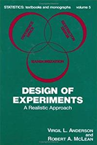 eBook Design of Experiments: A Realistic Approach (Statistics:  A Series of Textbooks and Monographs) download