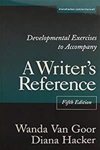 eBook Writer's Reference 5e with 2003 MLA Update  CDR Exercises  Developmental Exercises  Patterns for College Writing 9e  Comment for Writer's Reference 5e download