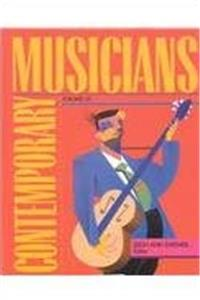 eBook Contemporary Musicians: Profiles of the People in Music download