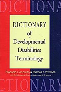 eBook Dictionary Of Developmental Disabilities Terminology download