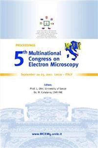 eBook Proceedings of 5th Multinational Congress on Electron Microscopy: September 20-25, 2001, Lecce, Italy download