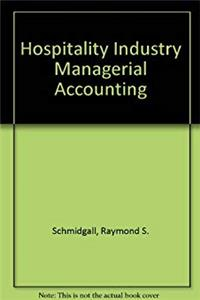 eBook Hospitality industry managerial accounting download