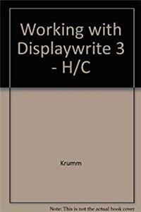 eBook Working With Displaywrite 3/Pbn 2664 download