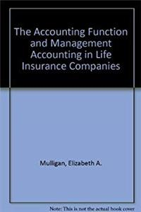 eBook The Accounting Function and Management Accounting in Life Insurance Companies download