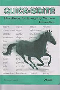 eBook The Quick-Write Handbook for Everyday Writers - Intermediate download