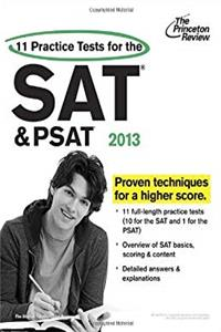 eBook 11 Practice Tests for the SAT and PSAT, 2013 Edition (College Test Preparation) download