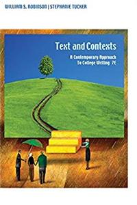 eBook Texts and Contexts: A Contemporary Approach to College Writing, 7th Edition download