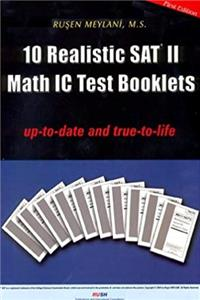 eBook 10 Realistic SAT II Math IC Test Booklets download