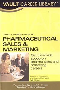 eBook Vault Career Guide to Pharmaceuticals Sales (Vault Career Library) download