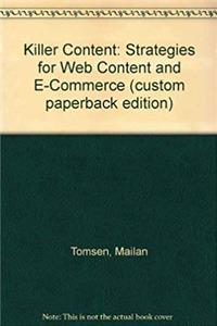eBook Killer Content: Strategies for Web Content and E-Commerce (custom paperback edition) download