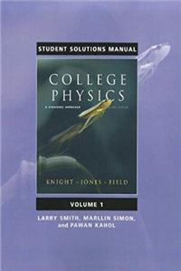eBook Student Solutions Manual for College Physics: A Strategic Approach Volume 1 (Chs. 1-16) download